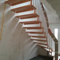 Einbau Treppe 2