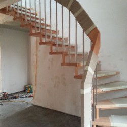 Einbau Treppe 3