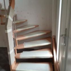 Einbau Treppe 4